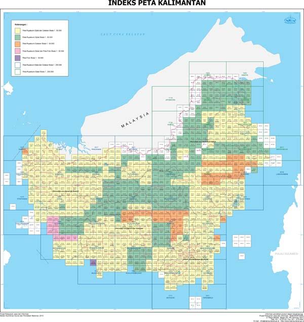 Big Bersama Menata Indonesia Lebih Baik Peta Rbi Kalimantan Gambar