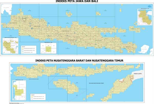 Big Bersama Menata Indonesia Lebih Baik Peta Rbi Jawa Bali
